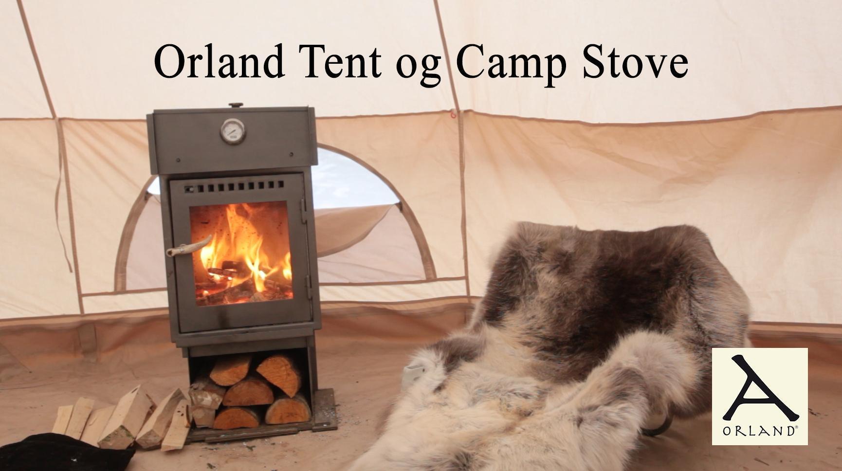 Orland Camp stove telt ovn