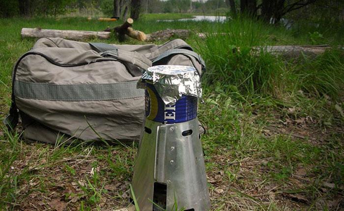 Test af Caldera Keg-F Stove spritbrænder fra Trail Designs