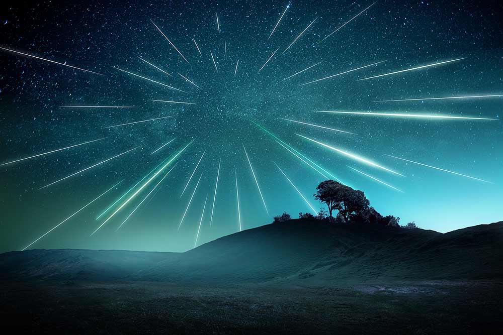 Meteorregn og stjerneskud